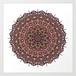 Mandala Innocenza Art Print