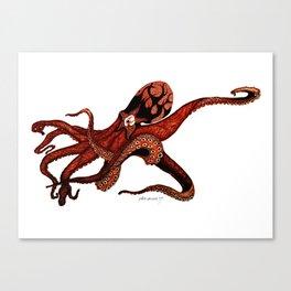 Octoclipse Canvas Print