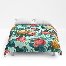 Spring-Summer Botanical Pattern II Comforters