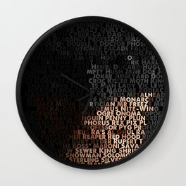 You Are Who You Beat. Wall Clock