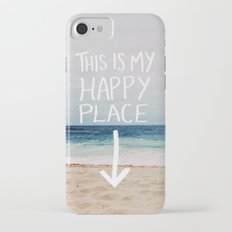 My Happy Place (Beach) iPhone 7 Slim Case