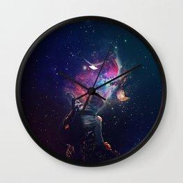 The Follower Wall Clock
