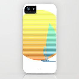Summer Windsurfer iPhone Case
