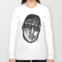biggie smalls Long Sleeve T-shirts featuring Biggie Smalls Life and Death by sketchnkustom