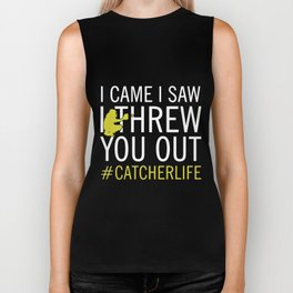 I came I saw I threw you out game Biker Tank