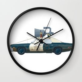 The Blues Brothers Bluesmobile 2/3 Wall Clock