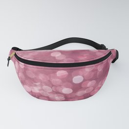 Pink Glitter Fanny Pack
