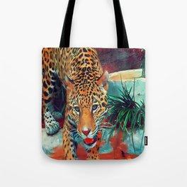 Jaguar in Motion Tote Bag