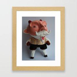 Señor Chupacabra Framed Art Print