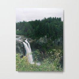 Snoqualmie Falls, Washington Metal Print