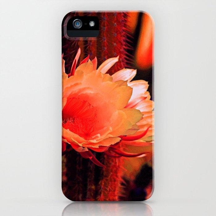 """""""Susan's Cactus Flower Dream #130"""" iPhone Case"""