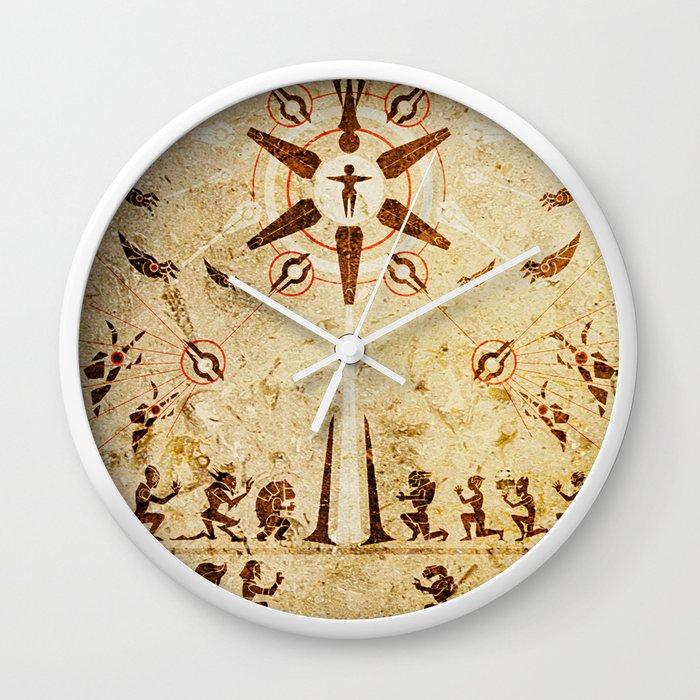 The Reaper War: Destroy Ending - Krogan Mural Art Style Wall Clock ...
