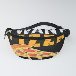 I want pizza not your opinion, food gift for a Fanny Pack