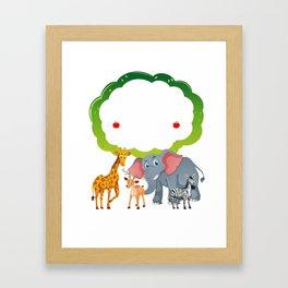 Teacher Costume . Gift For Kindergarten Teacher Framed Art Print