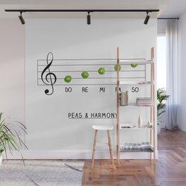 Peas & Harmony Wall Mural