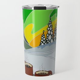 At Home in the Woods Travel Mug