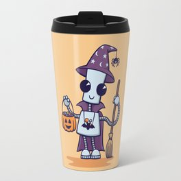 Ned's Halloween Witch Travel Mug