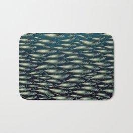 Mackerel At Sea Bath Mat