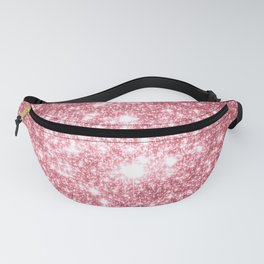 Pink Sparkle Stars Fanny Pack