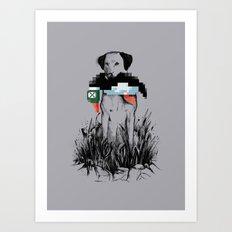 Famous Hunter Art Print