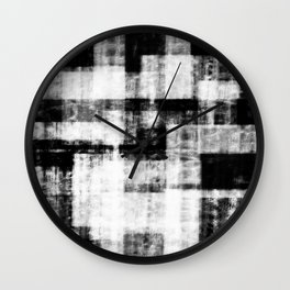 Black & White Abstract Series ~ 1 Wall Clock
