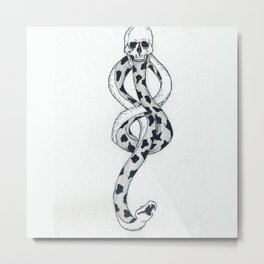 Dark Mark Metal Print