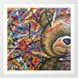 """The Little Bear Has A Nervous Breakdown"" Art Print"