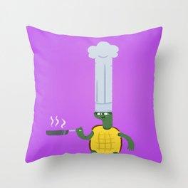 Turtle4 Throw Pillow