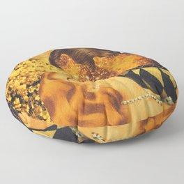 Implosion  Floor Pillow