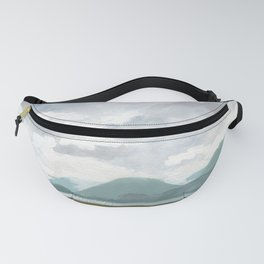 SITKA SOUND 02, Sitka Travel Sketch by Frank-Joseph Fanny Pack