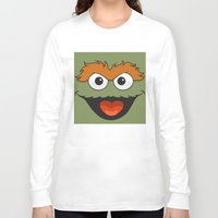 sesame street Long Sleeve T-shirts featuring Sesame Street  by Jconner