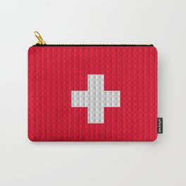 Swiss flag by Qixel Carry-All Pouch