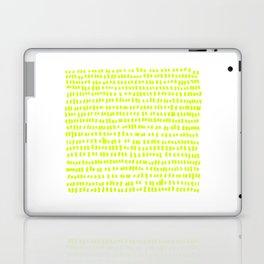 The green green grass of home - a handmade pattern Laptop & iPad Skin