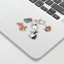 bunnies Sticker