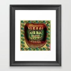 Betel Leaf Framed Art Print