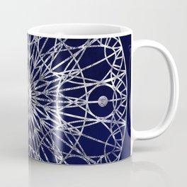 Rosette Window - Midnight Blue Coffee Mug