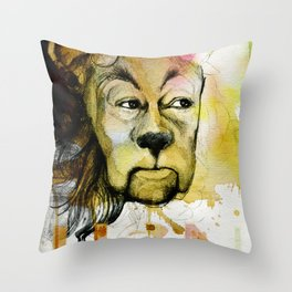 Cowardly Throw Pillow