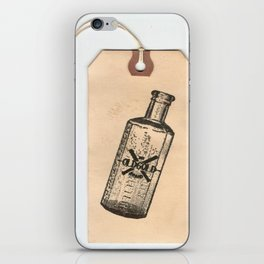 Old But Gold Bottle Stamp Hang Tag  iPhone Skin