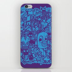 All Day Doodle iPhone & iPod Skin