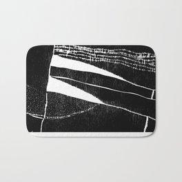 Black Horizon Bath Mat