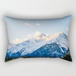The Glowing Alps Rectangular Pillow