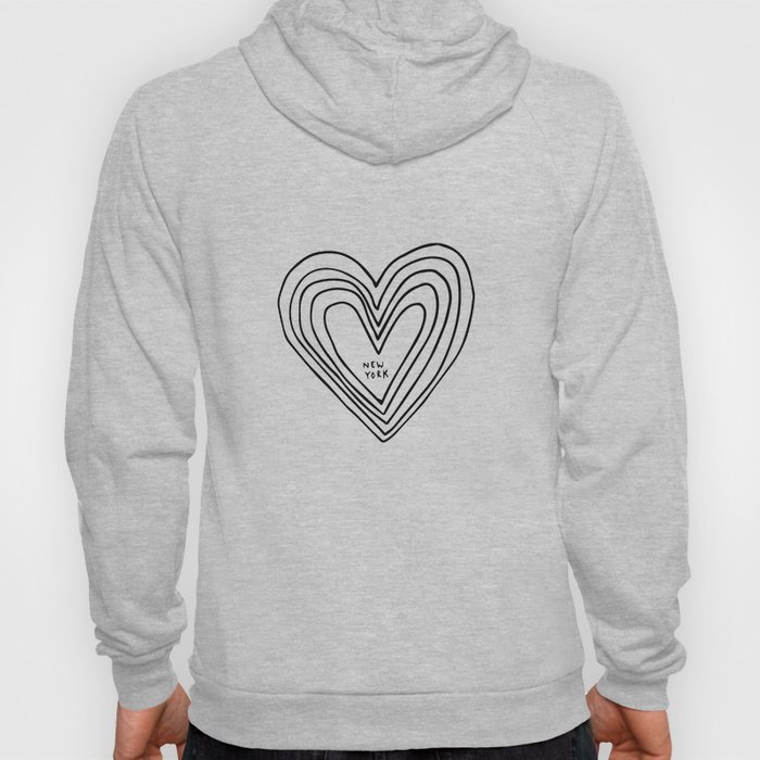 All Day. Every Day. Heartbeats for NYC. Hoody