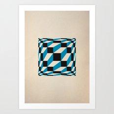 fuzzy gestalt 02 Art Print