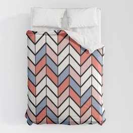 Summer Chevron Comforters