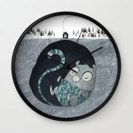 Let's bore for geothermal energy! Wall Clock