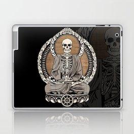 Starving Buddha - Wood Grain Laptop & iPad Skin
