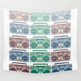 """I CAN'T LIVE WITHOUT MY RADIO"" Wall Tapestry"