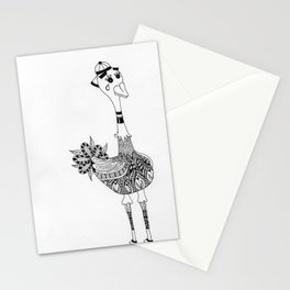 Ozzy the Ostracized Ostrich Stationery Cards