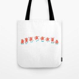 Kick Flip Cat Tote Bag