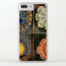 Faciolingual Concrete Flowers  ID:16165-090706-35861 Clear iPhone Case